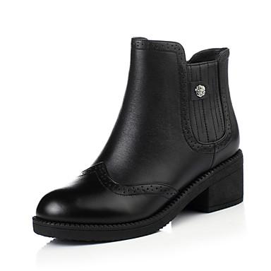 Zapatos de mujer tac n robusto botas anfibias punta - Zapatos de trabajo ...