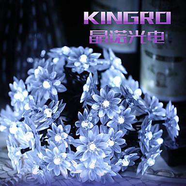 Koning ro zonne 50led lotus mooie bruiloft decoratie licht buiten waterdicht - Kleine zonne lamp ...