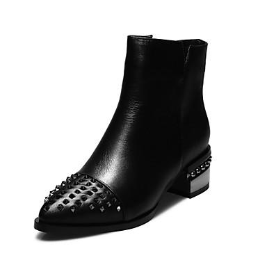 Zapatos de mujer tac n robusto botas a la moda botas - Botas de trabajo ...