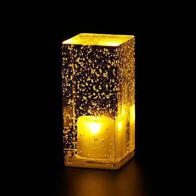 Buy Coffee Shop Decoration Table Lamp Luminous Crystal Bubbles Bar LED Light L6.5*W6.5*H13.5CM 0.5W