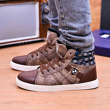 men's shoes office  career / athletic / casual canvas