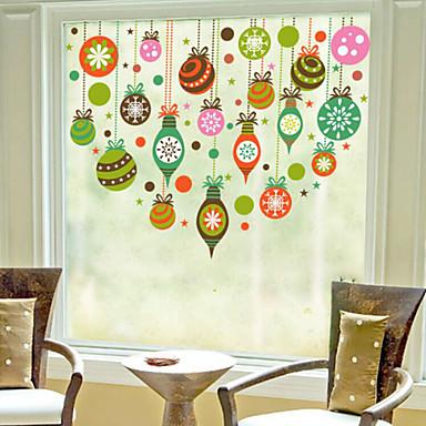 Buy Christmas Window Sticker Contemporary , Art Deco 60m*60cm