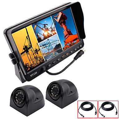 Buy RenEPai® 7 Inch 4 in1 HD Monitor + BUS Car Rear View Camera Waterproof Video Recorder (Support 32GB)9V~36V