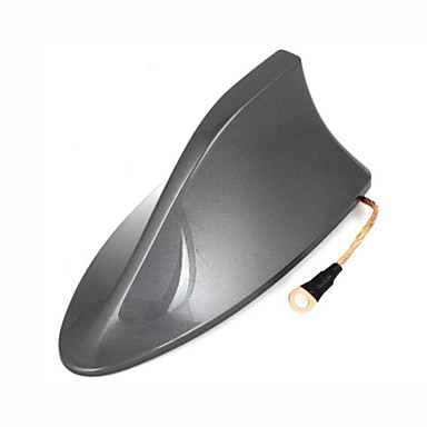 Plastic shark fin design adhesive base roof decorative for Antenna decoration