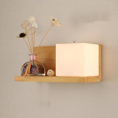 Led candelabro de pared moderno contempor neo madera - Candelabros de pared ...