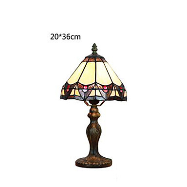 Buy E27 20*36CM 5-8㎡220V Europe Type Restoring Ancient Ways Creative Pastoral Glass Button Switch Lamp Light Led