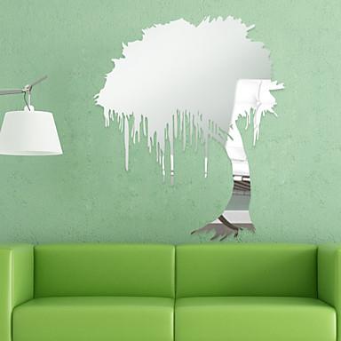 Forma 3d adesivi murali adesivi a parete specchio ps for Adesivi parete 3d