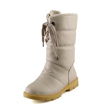 Zapatos de mujer tac n plano botas de nieve punta - Zapatos de trabajo ...