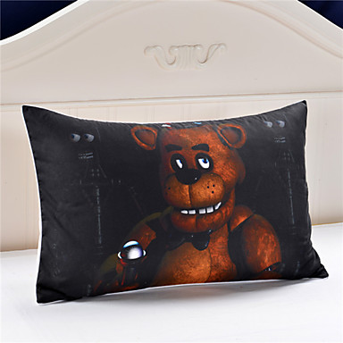 Hot sale bear decorative pillow case five nights at freddy for Decorative bed pillow case