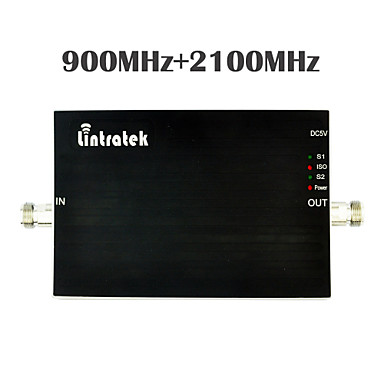 Buy 2015 New Dual Band 2G 3G Signal Booster 20dBm GSM 900MHz UMTS 2100MHz Cell Phones