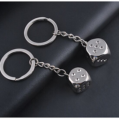 Buy 1pc Dice Keychain Couple Lover