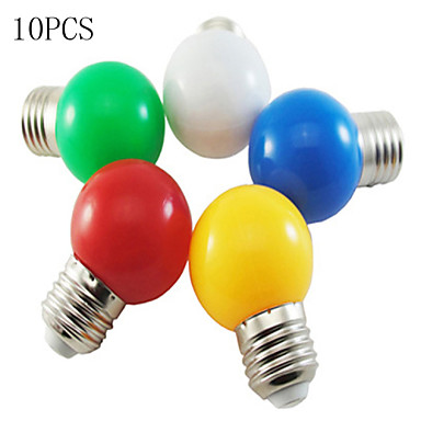 10pcs morsen led light bulb color e27 1w small light bulb. Black Bedroom Furniture Sets. Home Design Ideas