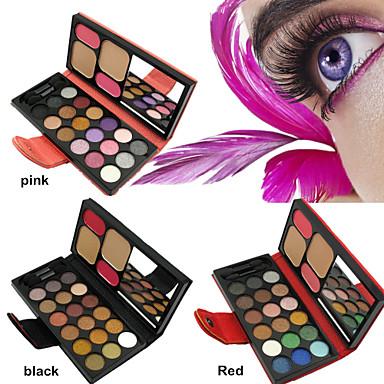 Buy 18 Eyeshadows 2 Face Powder Concealer Blush Busher New Eye Shadow Palette Makeup Sets(Assorted Colors)