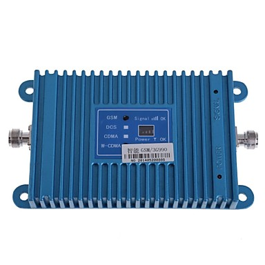 Buy Intelligence Dual Band GSM/3G 900/2100MHz Mobile Phone Signal Repeater Booster Amplifier