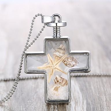 Buy Z&X® Fashion Popular Vintage Cross Necklace Pendant Necklaces / Party Alloy Daily 1pc