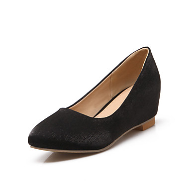 Women's Spring / Summer / Fall Wedges / Heels Leatherette ...