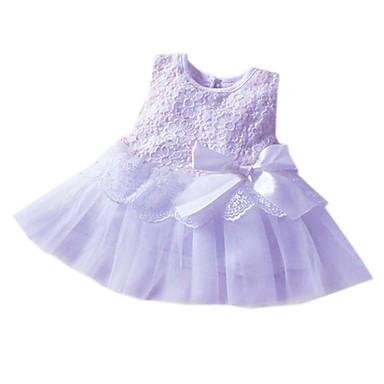 Girl's Princess Gauze Sleeveless Bowknot Small Yards Dress
