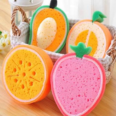 Limpiador de la moda 3d esponja fruta casa herramientas de for Herramientas de cocina