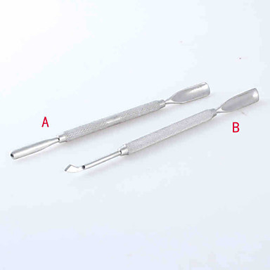 Buy Cuticle Nail Pusher Care Tools / Stainless Steel Pusher(2PCS)