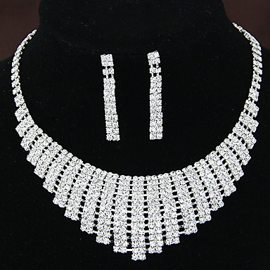 bridal sets bridal accessories necklace earrings set wedding party