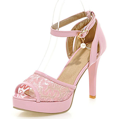 s shoes lace stiletto heels platform open toe