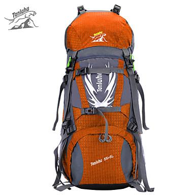 Backpack Camping & Hiking Waterproof / Rain-Proof Dust Proof Multifunctional 60 L Terylene 600D Ripstop
