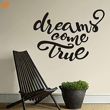 Palabras y frases romance de moda pegatinas de pared for Calcomanias para paredes decorativas