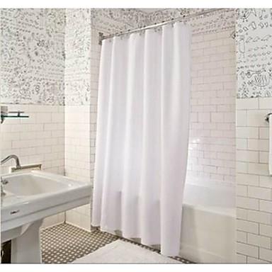 "Cortina de baño-Moderno- dePoliéster-W71""×L71""(W180cm x ..."