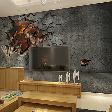 Animali cartoni animati fantasia 3d adesivi murali for Adesivi da parete 3d
