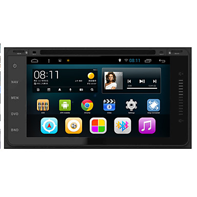 Buy Android 4.4.4 Car DVD Player GPS TOYOTA Universal Quad-Core Contex A9 1.6GHz,Radio,RDS,BT,SWC,Wifi,3G