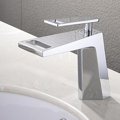contemporain montage cascade with valve en c ramique mitigeur un trou for chrom robinet. Black Bedroom Furniture Sets. Home Design Ideas
