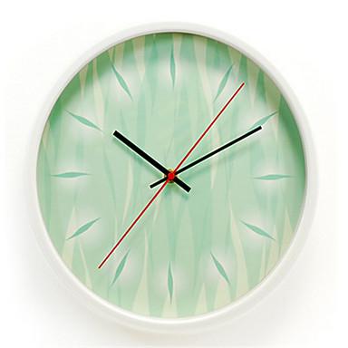 Moderno contempor neo otros reloj de pared redondo metal - Reloj de pared moderno ...