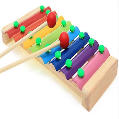preschool musical instruments wooden puzzle octave piano xylophone knock preschool 224