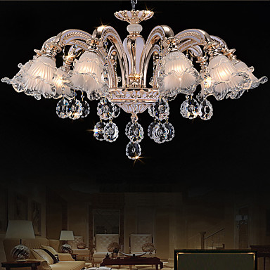 lustre contemporain r tro dor fonctionnalit for cristal led cristalsalle de s jour chambre. Black Bedroom Furniture Sets. Home Design Ideas