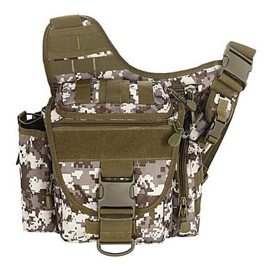 Buy 2 L Shoulder Bag Camping & Hiking Outdoor Multifunctional Khaki / Army Green Canvas