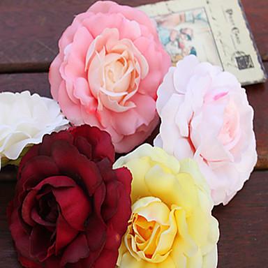 Buy 6Piece/Set Silk Wedding Decorations- Artificial Flower DIY Unique Décor (8cm*8cm)