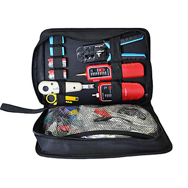 home wiring kit, cable clamp, line tester, crystal head stripping, house wiring