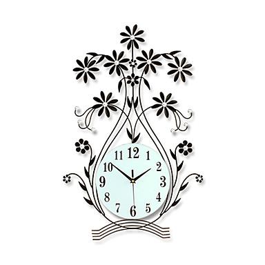 Moderno contempor neo floral bot nico inspirador - Reloj de pared moderno ...