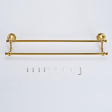 barre porte serviette laiton poli fixation murale 32 10 25 laiton antique 32 10 de. Black Bedroom Furniture Sets. Home Design Ideas