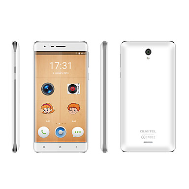 Buy OUKITEL® K4000 LITE 5.0 inch Android 4G Smartphone (Dual SIM Quad Core 13 MP 2GB + 16 GB Gold / White)