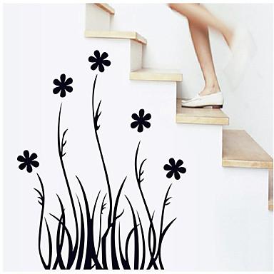 Botanica adesivi murali adesivi aereo da parete adesivi decorativi da parete pvc materiale - Wall flower design ...