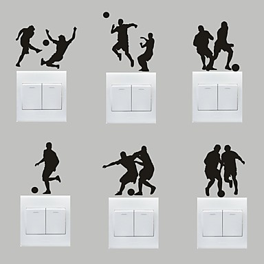 Deportes pegatinas de pared calcoman as de aviones para for Pegatinas decorativas pared