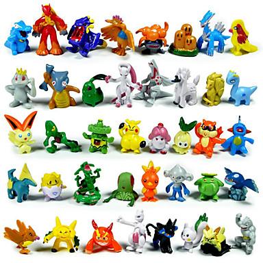 Pocket Little Monster Action Figures 144Pcs Cute Monster Mini Figures Toys Best Christmas&Birthday Gifts 3cm