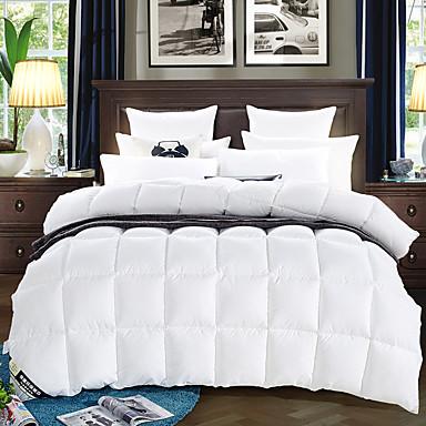down proof super soft plush feather thick warm winter quilt bedding set 5247898 2016. Black Bedroom Furniture Sets. Home Design Ideas