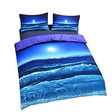 New Beach Ocean Duvet Cover Set 3d Bedding Set Twin Full