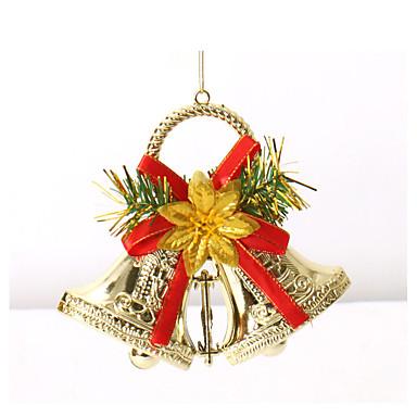 Dobles cascabeles ornamentos de navidad guirnalda for Decoracion del hogar por navidad