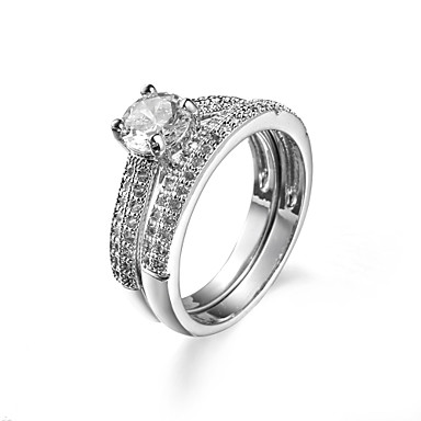 Ring AAA Cubic Zirconia Halloween Wedding Party Daily Casual Sports