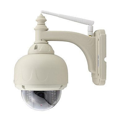 Wanscam® PTZ Outdoor IP Camera 3X Optical Zoom IR-Cut Wireless