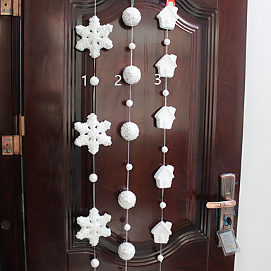 1pc foam snowflake christmas supplies pendant shopping for Christmas decoration 94