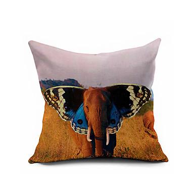 Animal Light Pillows : Animal Cartoon Cotton Linen Throw Pillow Case Home Decorative Cushion Cover Pillowcase Car ...